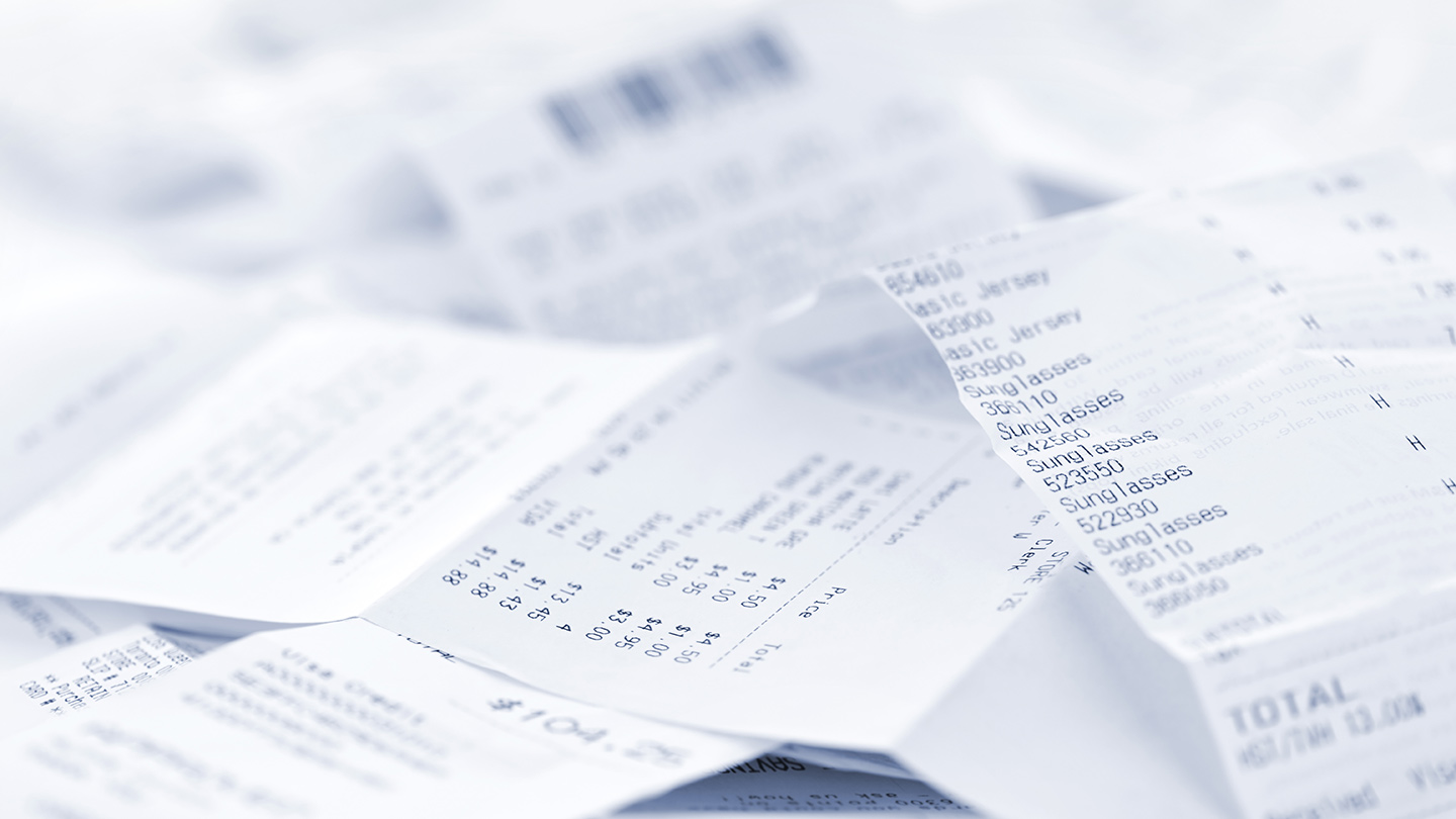 Say goodbye to paper receipts